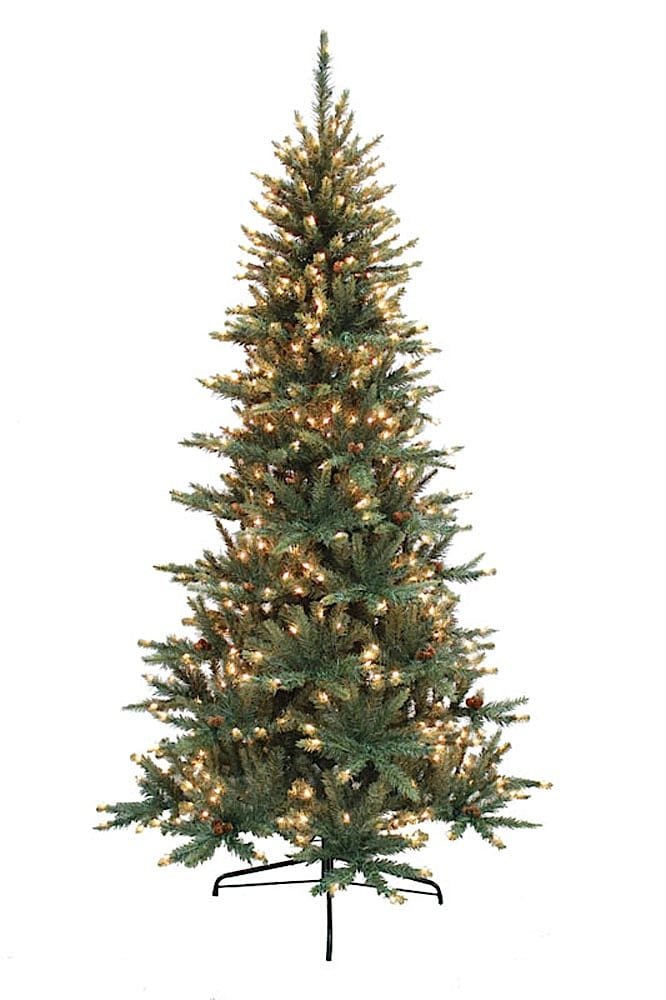 41570L 7' Franklin Fir Tree with 550 clear lights
