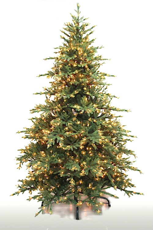 94476L Diamond Ridge Spruce Tree with 1000 Clear Brilliant  lights